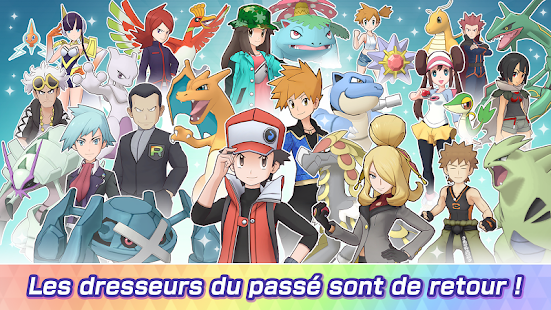 Pokémon Masters EX screenshots apk mod 5