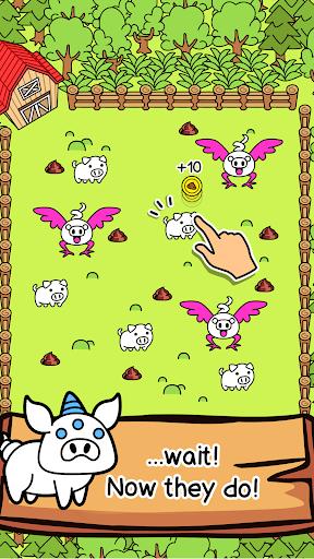 Pig Evolution - Mutant Hogs and Cute Porky Game 1.0.7 screenshots 2