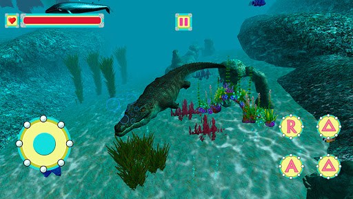 Underwater Crocodile Simulator u2013 Crocodile Games 1.3 screenshots 9
