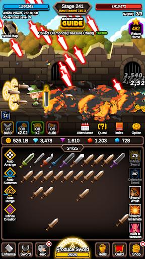 Raising Infinite Swords 1.1.2 screenshots 14