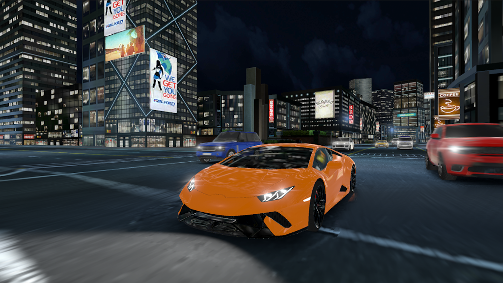 Racing in Car 2021 - POV traffic driving simulator  poster 4