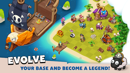 Pirate Evolution! MOD APK 0.16.1 (Unlimited Gold, Diamond) 5