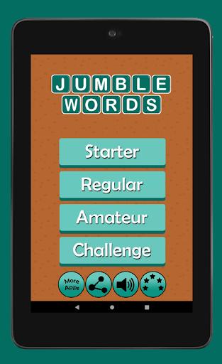 Jumble Word Game - Correct the Spelling 1.5 screenshots 10