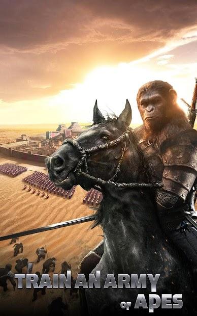 Captura de Pantalla 3 de Apes Age para android