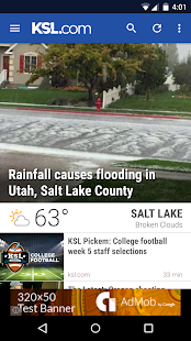 KSL News - Utah breaking news, weather, and sports 2.11.11 screenshots 1