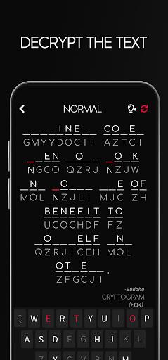 Cryptogram - Decrypt Quotes screenshots 10