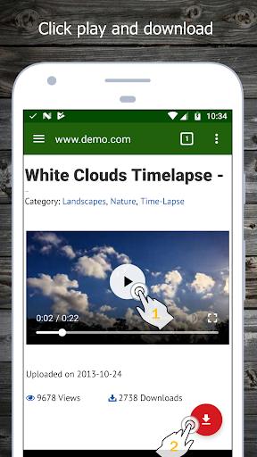 Video Downloader android2mod screenshots 1