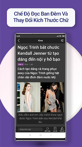Tin moi 24h - Doc bao, tin tuc 8.7.5 Screenshots 6