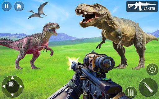 Wild Dino Hunt :Wild Animal Hunting Shooting Games  screenshots 2