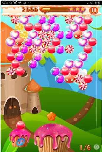 candy game : shooter game fun screenshot 2