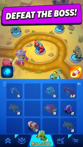 Merge Tower Bots apkslow screenshots 3