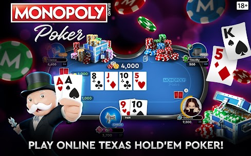 MONOPOLY Poker – The Official Texas Holdem Online 9