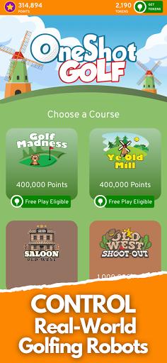 OneShot Golf  screenshots 1