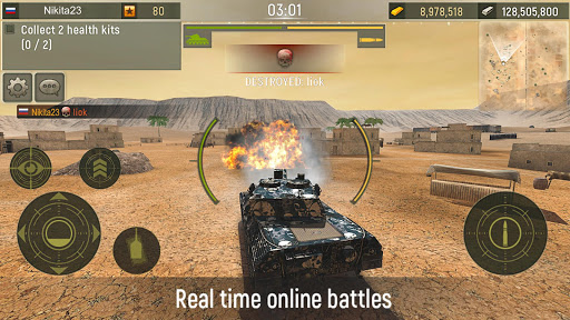 Grand Tanks: Best Tank Games 3.04.1 Screenshots 6