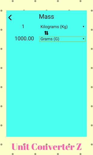Unit Converter Z 1.1 screenshots 2