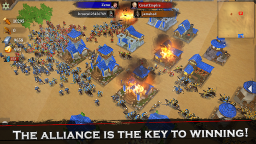 War of Kings: stratégie mobile APK MOD – Pièces de Monnaie Illimitées (Astuce) screenshots hack proof 1