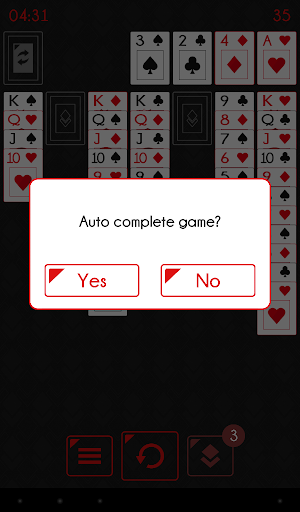 Solitaire - Klondike Redstone  screenshots 9