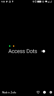 Access Dots - iOS 14 cam/mic access indicators! Screenshot
