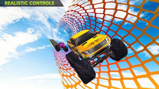 Monster Truck Stunts on Impossible Track New 2021 apktram screenshots 5