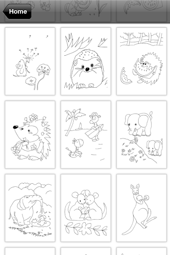 Coloring Book for Kids: Animal apkmr screenshots 2
