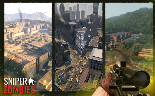 Sniper Zombies: Offline Games 3D apkmr screenshots 19