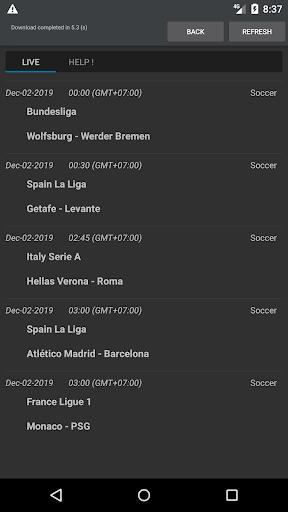 Sport Schedule 1.03 Screenshots 1