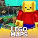 Lego Maps for Minecraft