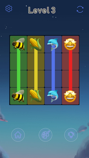 Connect Emoji Puzzle apkdebit screenshots 5