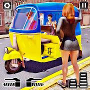 City TukTuk Rickshaw Simulator: Driving Games 2021