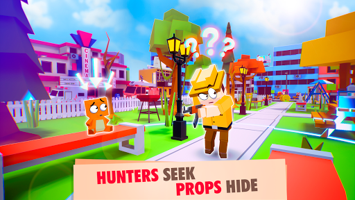 Peekaboo Online - Hide and Seek Multiplayer Game modiapk screenshots 1