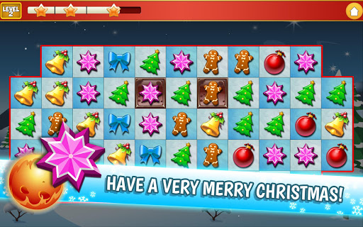 Christmas Crush Holiday Swapper Candy Match 3 Game 1.66 screenshots 15