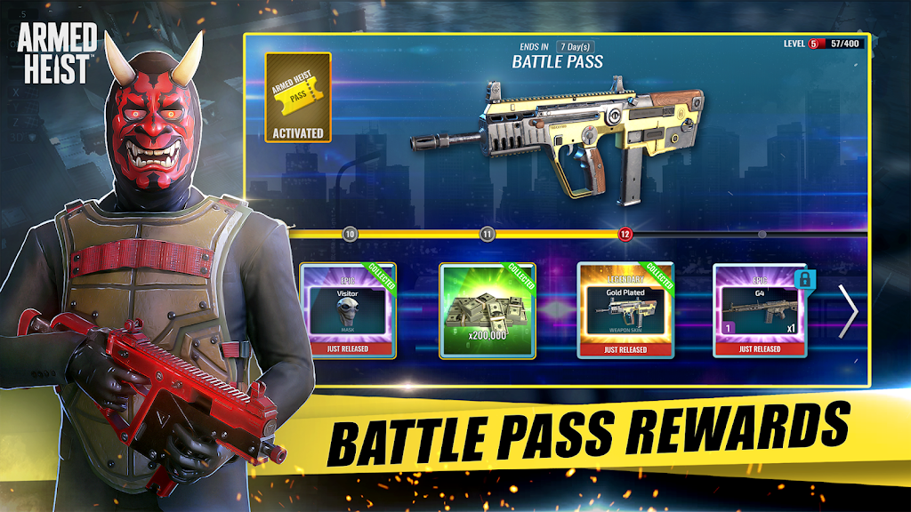 Armed Heist: TPS 3D Sniper shooting gun games  poster 3