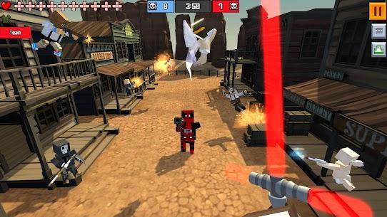 Pixel Fury: Multiplayer in 3D Mod Apk (God Mode + One Shot Kill) 4