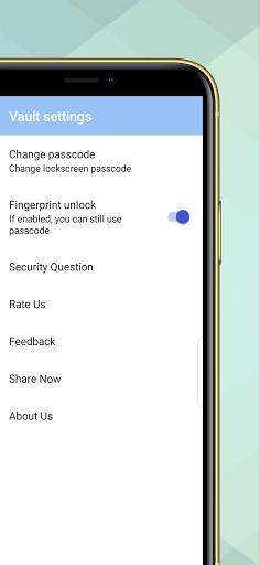 Gallery Lock - Photo & Video Vault App Fingerprint apktram screenshots 8