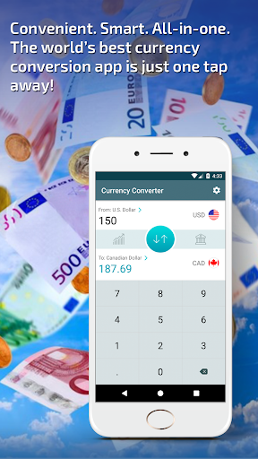 perfect currency converter - foreign exchange rate screenshot 1