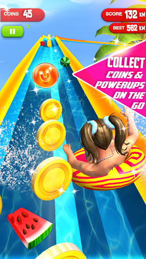 Water Slide Summer Splash - Water Park Simulator apkmr screenshots 19