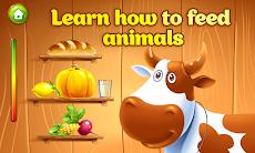 Animal Farm for Kids. Toddler games.のおすすめ画像2
