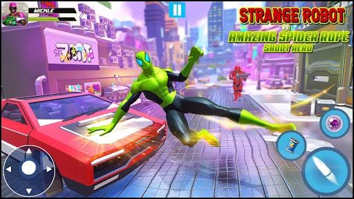 Strange Robot Vs Amazing Spider Vice City Hero  screenshots 7