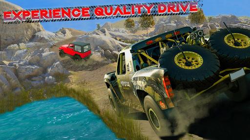 Code Triche Offroad Jeep Driving & Racing cascades apk mod screenshots 6