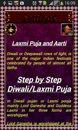 Lakshmi Puja Aarti Diwali Greetings screenshots 3