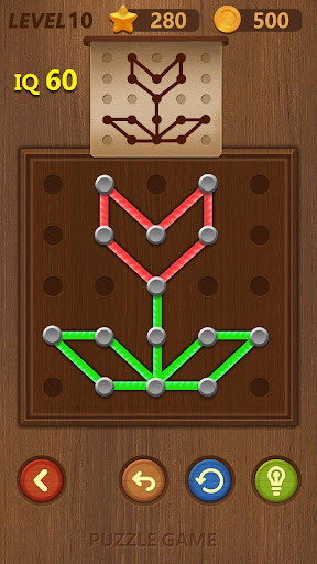 Line puzzle-Logical Practice 2.2 screenshots 1