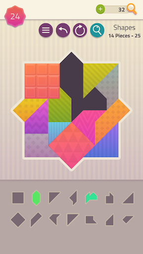 Polygrams - Tangram Puzzle Games 1.1.51 screenshots 4