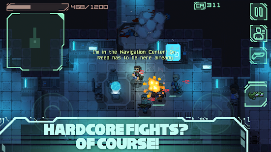 Endurance: infection in space (2d space-shooter) Screenshot