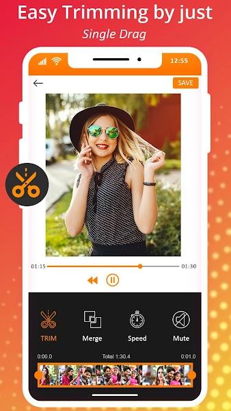 Speed Video Cutter & Video Merger: Editing App
