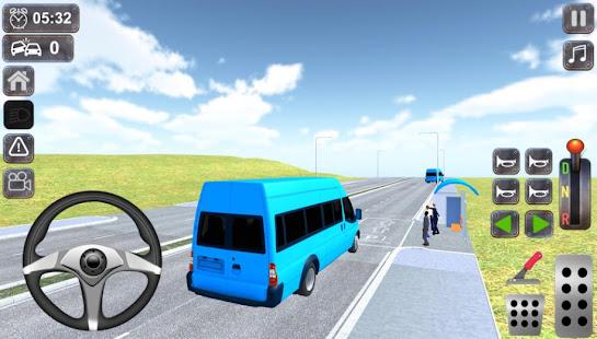Intercity Minibus Driver Simulator 1.3 screenshots 1