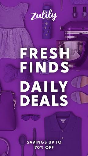 Zulily: Fresh Finds, Daily Deals apktram screenshots 1