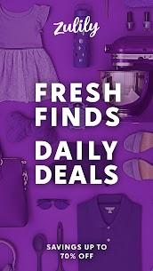 Zulily: Fresh Finds, Daily Deals 1