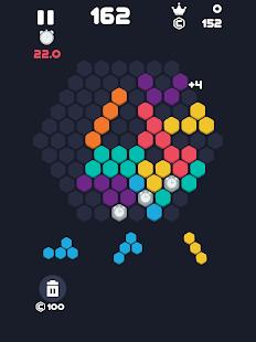 Block Mania : Classic Square & Hexagon Fill Puzzle