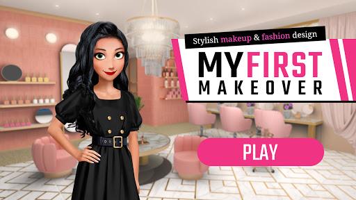 My First Makeover: Stylish makeup & fashion design screenshots 6