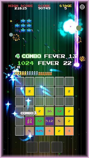 2048 INVADERS 1.0.8 screenshots 2